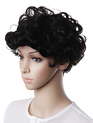 Capless Short Natural Look Synthetic Hair Wig