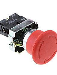 Emergency Red Sign Push Stop Button (Actuator Switch 660 Volts 10 Amp)