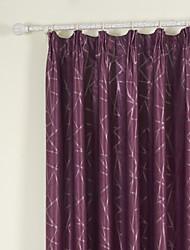 (Dois painéis) jacquard sala pertencente escurecimento cortina térmica