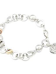 Legering Dames Cuff armband Armbanden Kristal