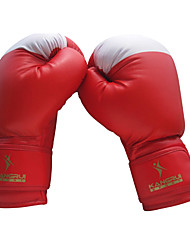 Leather Full Finger Adult Professional Boxing Gloves (Average Size)