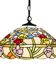 Tiffany 2 - Light Pendent Lights in Floral Feature