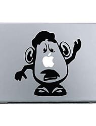 """patrón de dibujos animados etiqueta de protección de piel para 11 """"13"""" 15 """"macbook air pro"""
