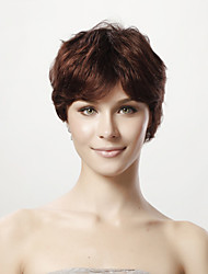 Capless 100% Human Hair Wig Short Straight Hair Wig 5 Colors To Choose
