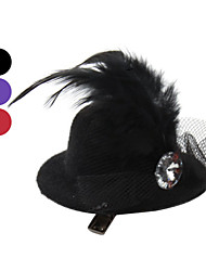 All Seasons Wedding Terylene Hair Accessories for Dogs / Cats Black / Purple / Rose