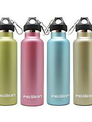 600ML Sports Vacuum Bottle/Vacuum Flask (Blue/Pink/Green/Champine)
