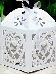 12 Piece/Set Favor Holder-Cubic Pearl Paper Favor Boxes
