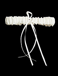 Satin With Rhinestone/Satin Ribbons Wedding Garter