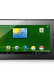 "7 ""Touch tela capacitiva Android 4.0 Tablet w / Camera / G-Sensor / WiFi - Antes de o preto depois branco (RK2906 1.2GHz / 4GB)"