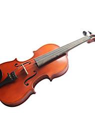 violintine - (v2) violon 4/4 de qualité professionnelle avec étui en épicéa massif / arc