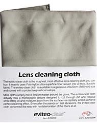 Tissu de nettoyage de lentille pour Eviteo Digital SLR Camera DC DV PDA écran LCD