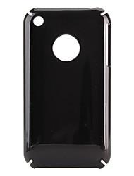 efecto de espejo duro funda protectora para iPhone 3G y 3GS (negro)