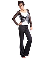 siboen Polyester Praxis tragbar schwarz Yoga Pants