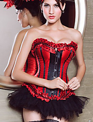 espartilhos de cetim strapless frente fechamento busk shapewear ocasião especial mais cores disponíveis lingerie sexy shaper