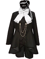 Ciel Phantomhive Black Cosplay Costume