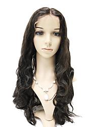 Lace Front 100% cabelo indiano de Remy peruca onda do corpo Longa