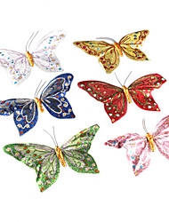 Decorative Beautiful Magnetic Butterfly (Random Colors)