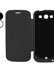 External Power Battery with Back Case for Samsung Galaxy S3 i9300 (3200mAh, Assorted Colors)