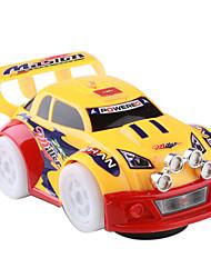 batteriebetriebenen Auto-Run-blinkende Räder Rennwagen Spielzeug (3xAA)