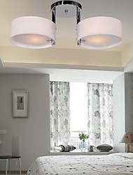 60 Flush Mount ,  Modern/Contemporary Chrome Feature for Mini Style Metal Living Room Bedroom Dining Room Entry