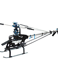 MYSTERY 450 Sport V3 Shaft Drive System Helicopter Kit Without Any Electronics(Blade,Canopy Random color)