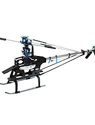 Geheimnis 450 Sport v3 Kardanantrieb Hubschrauber Kit ohne Elektronik (Klinge, Baldachin zufällige Farbe)