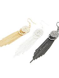 Drop Earrings Women's Agate Earring Crystal