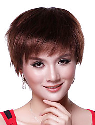 Capless Fashion Brown Short Wig