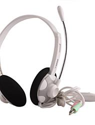 Salut-Fi Casque PC stéréo léger avec microphone (T12)