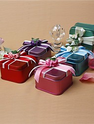 12 Piece/Set Favor Holder - Cuboid Tins Favor Tins and Pails/Favor Boxes Non-personalised