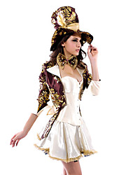 Des femmes sexy Magicien / Mad Hatter Halloween Costume (6 Pieces)