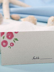 Place Card - Lovely Flower (Set of 12)