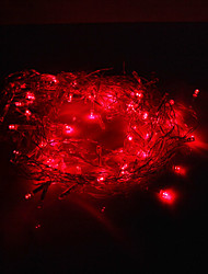 Decorazione Festival 120-LED 8-Mode Red Icicle Lampade ottiche per Christmas Party (220V)