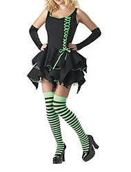 Wizard of Oz - Emerald Witch Adult Halloween Costume (3Stück)