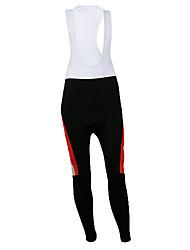 Kooplus Quick Dry Herren Lange Cycling BIB Pants (Red Horse)