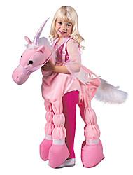 Pink Ride A Unicorn Child Costume (5-7 YRS)