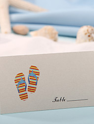 Place Cards and Holders Place Card - Slipper (Set of 12)