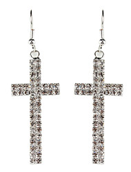 Heiliges Kreuz Strass Fully-Jewelled Earring