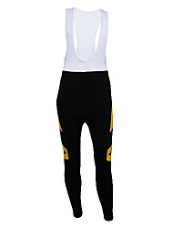 KOOPLUS® Cycling Bib Tights Men's Bike Breathable / Thermal / Warm / Quick Dry / Wearable / Reflective Strips / 3D PadBib Shorts /