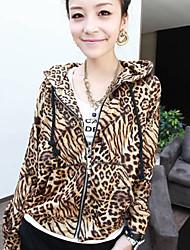 Leopard Zipper Jacket