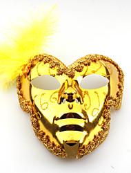 золото целом лицу перо принцесса маски