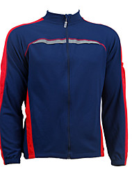 JAGGAD-Polyester Weave Cycling Jacket (Dark Blue)