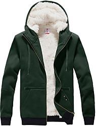 Men's Fashion Thicken Hoodie Coat