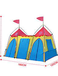 CAMPPAL-CT004 Castillo-Design carpa plegable para niños