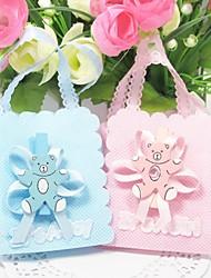 Party Favors e articoli da regalo Bomboniere borse Battesimo/Compleanno Classico Non personalizzato Tessuto non tessuto Rosa/Blu #