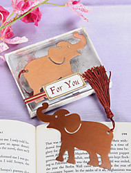 Elephant Bookmark Favor