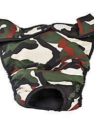Einstellbare Camouflage Pattern Sanitär-Hose für Big Dogs (L-XL)