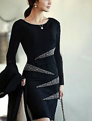 Diamond Slim Large Size Dress