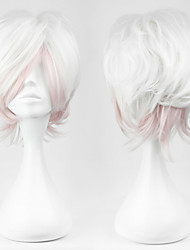 Cosplay Wigs Diabolik Lovers Cosplay White Short Anime/ Video Games Cosplay Wigs 30 CM Male / Female