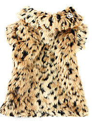 Noble Leopard Printing Style Pet Coat for Dogs (XS-XL)